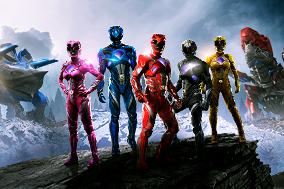 ¿Quiénes son los cinco Power Rangers?