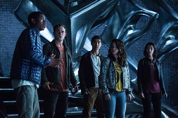 Los actores que interpretan a los Power Rangers