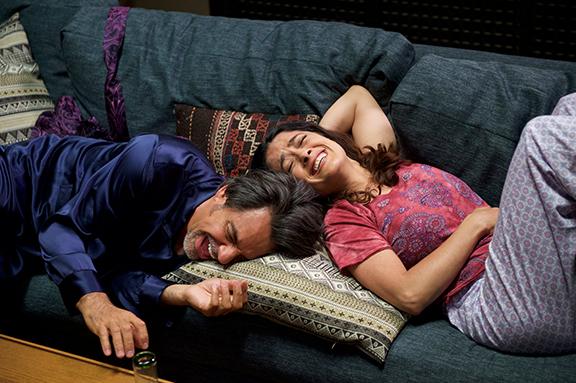CinemaCon premia a Eugenio Derbez y Salma Hayek