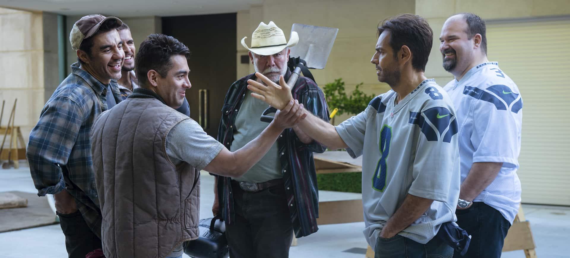Actores mexicanos en Hombre al agua