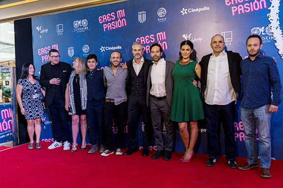 Actores y productores presentan Eres mi pasión