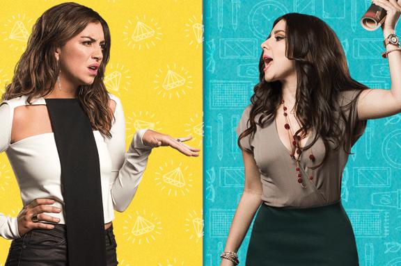Diana Bovio y Regina Blandón en dos películas